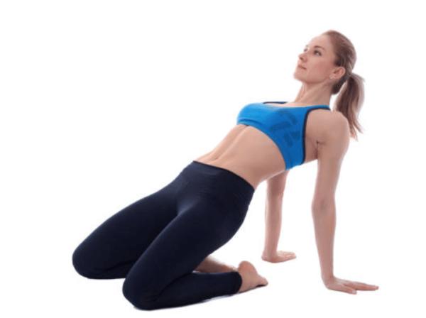 étirement des quadriceps